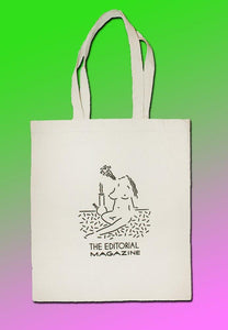 editorial magazine, tote bag, clay hickson