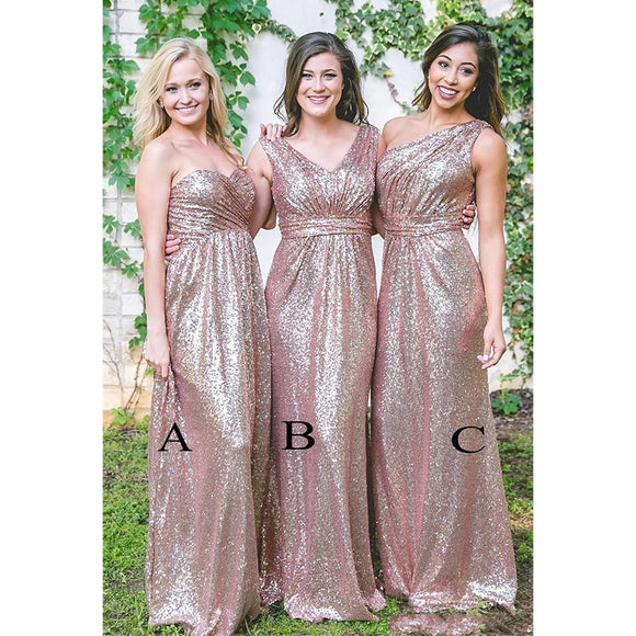 027bddb8f783e Mermaid Sweetheart Long Navy Blue/Pink/Black Bridesmaid Dresses -  eternally-yours-