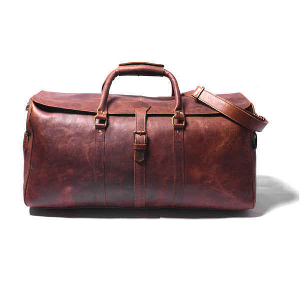 Zeppelin Leather Duffle - DÖTCH CLUB
