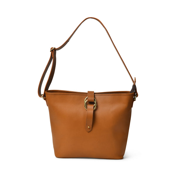 Alanis Leather Tote Bag - Mini Crossbody - DÖTCH CLUB