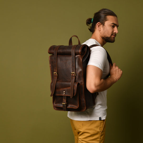 DuVall Rolltop Backpack- Plumb - DÖTCH CLUB