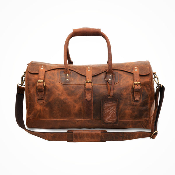 The Maynard Leather Duffle - DÖTCH CLUB