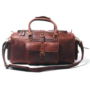 The Bowie Leather Duffle - DÖTCH CLUB