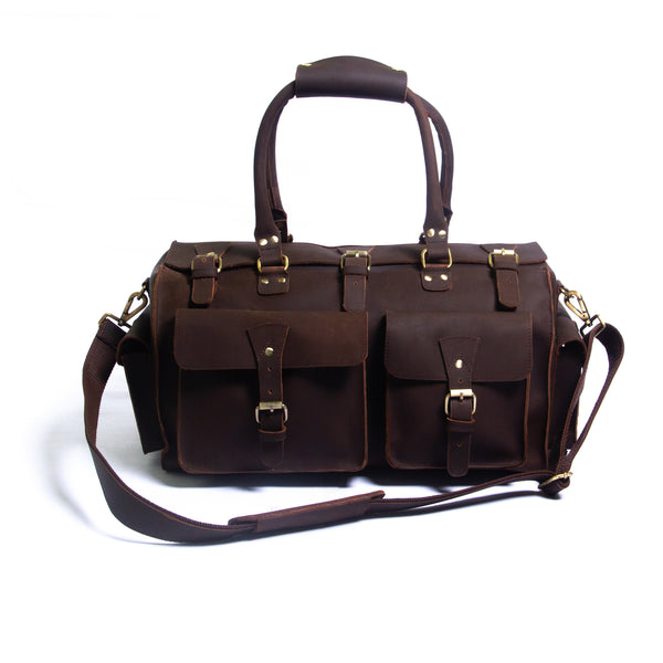 The Buckley Leather Duffle - DÖTCH CLUB