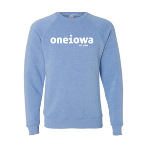 One Iowa Logo Crewneck Sweatshirt