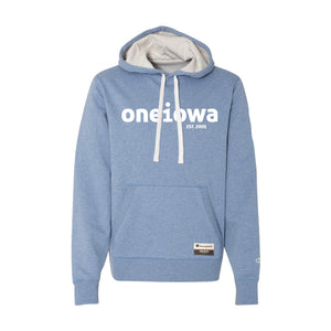 One Iowa Logo Pullover Sueded Hoodie