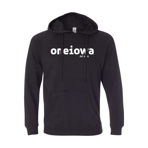One Iowa Logo Pullover Hoodie