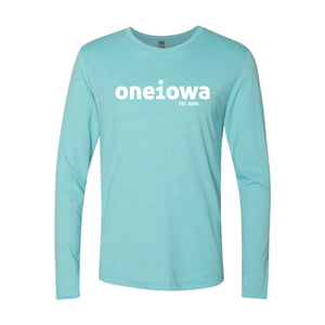 One Iowa Logo Long Sleeve T-Shirt