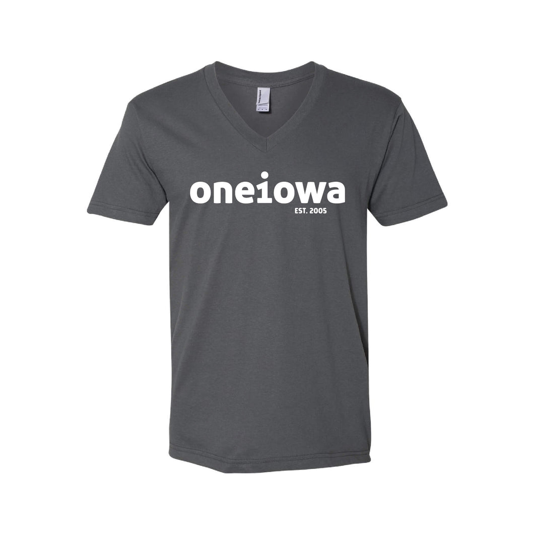 One Iowa Logo Unisex V-Neck T-Shirt