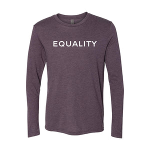 Equality Long Sleeve T-Shirt