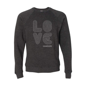 Love Lines Crewneck Sweatshirt