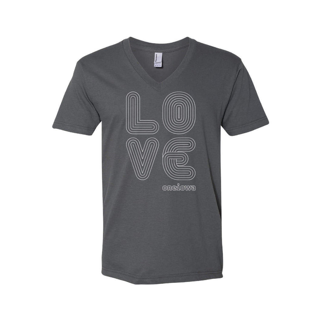 Love Lines Unisex V-Neck T-Shirt