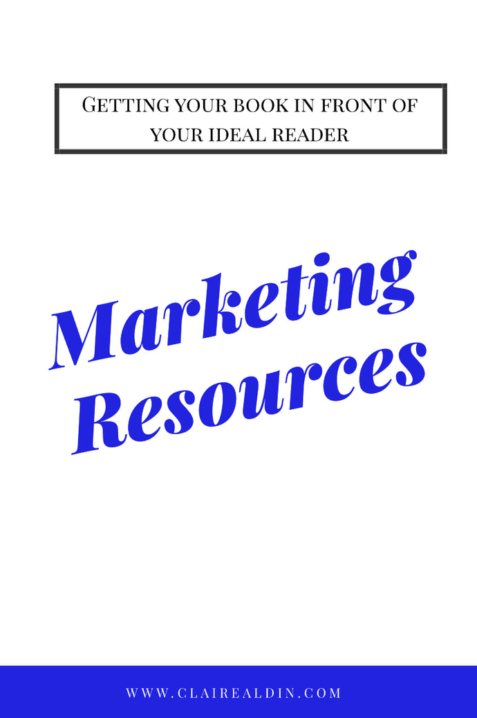 Marketing for Authors Strategies & Tactics