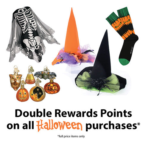 Double Rewards Points - October 2018