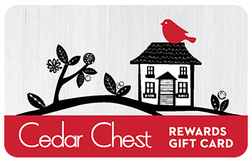 Cedar Chest Rewards Gift Card