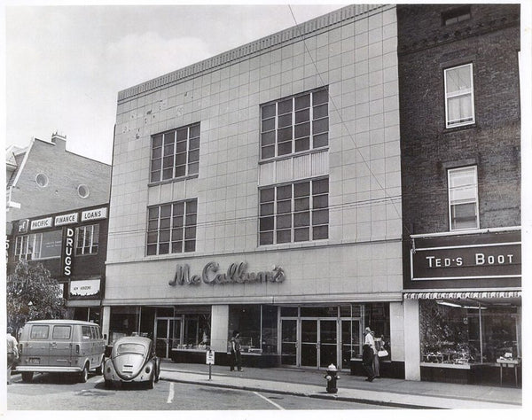 Cedar Chest History - McCallum's Department Store