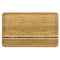 20IN DOMINICA BAMBOO CUTTING BOARD W/ GROOVE