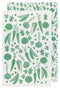 VEGGIES PRINTED FLOURSACK DISHTOWELS (SET OF 2)