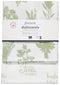 LES FINES HERBES PRINTED FLOURSACK DISHTOWELS (SET OF 2)