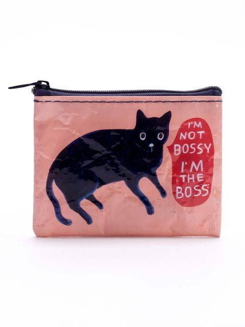 COIN PURSE: IM NOT BOSSY