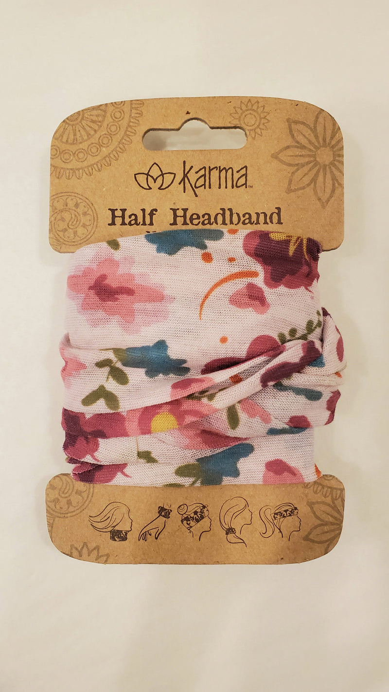 HEADBAND/FACE COVER STRETCH HALF-SIZE