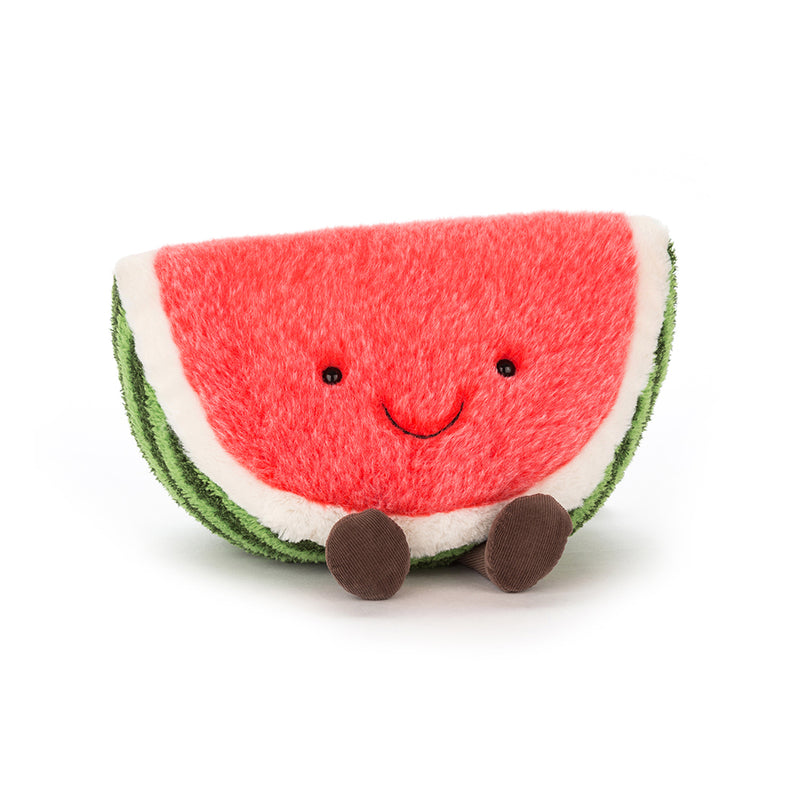 PLUSH WATERMELON 15""