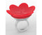 RING HUMMINGBIRD FEEDER, RED
