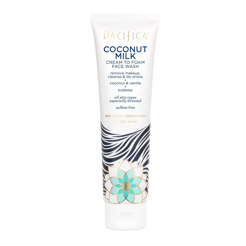 PACIFICA COCONUT MILK FOAMING FACE WASH