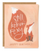 CARD FOXY BIRTHDAY