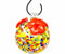 HUMMINGBIRD FEEDER, ROUND MULTICOLOR