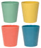 CUPS ECOLOGIE (SET OF 4) FIESTA