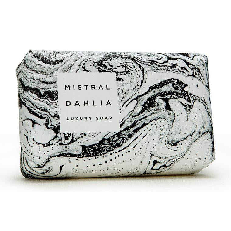 DAHLIA BAR SOAP (IN MARBLE PAPER)