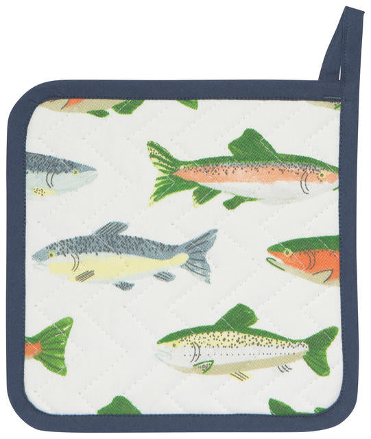 POT HOLDER GONE FISHING