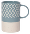 MUG ETCHED SLATE BLUE, 14OZ