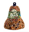BIRDSEED BELL: BUG & NUT, WITH HANGER