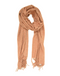HEATHER FRINGE SCARF, ORANGE