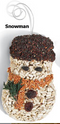 BIRDSEED: HOLIDAY SHAPES (TREE, SNOWMAN, STOCKING)