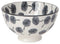 BOWL STAMPED DANDELION GRAY 4IN