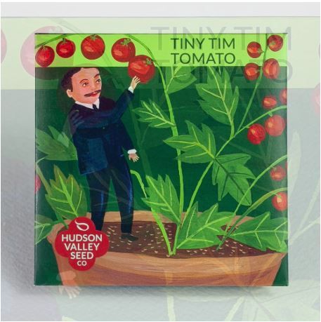 SEED PACKET TINY TIM TOMATO