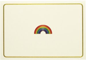 BOXED NOTECARDS SMALL RAINBOW