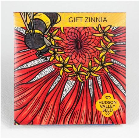 SEED PACKET GIFT ZINNIA