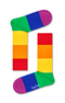 HAPPY SOCKS MENS PRIDE COLORBLOCK