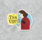 STICKER MRS MAISEL, TITS UP