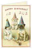 CARD BIRTHDAY DOGS 2