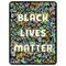 BLACK LIVES MATTER FLORAL STICKER