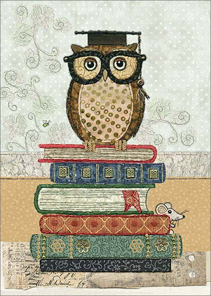 CARD BOOK OWL