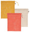 PRODUCE BAG (SET OF 3) LE MARCHE CORAL