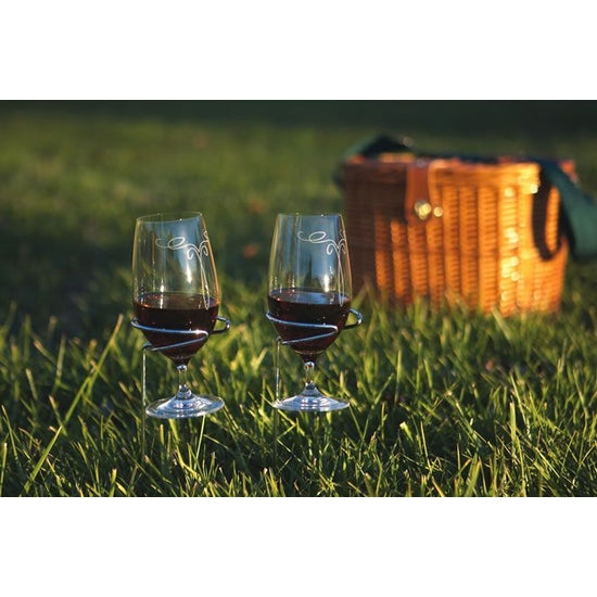 WINE GLASS STAKES (SET OF 2)