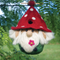 WOOL BIRDHOUSE GNOME