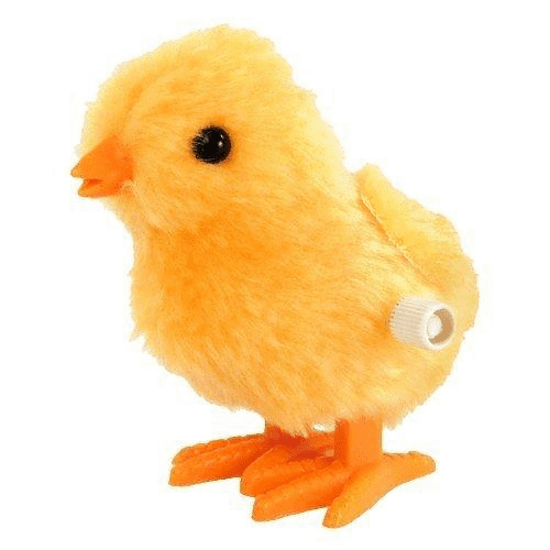 WIND-UP FUZZY CHICK